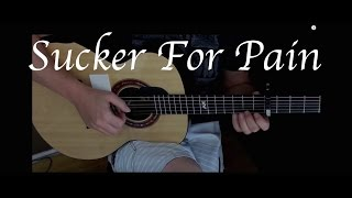 Sucker for Pain - Lil Wayne, Wiz Khalifa & Imagine Dragons Fingerstyle Guitar