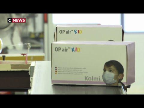 Coronavirus: la demande de masques explose