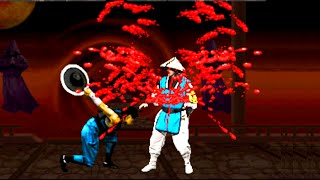 Mortal Kombat 2 All Fatalities Arcade Kollection