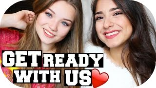 GET READY WITH US - mit JuliaBeautx | Sanny Kaur