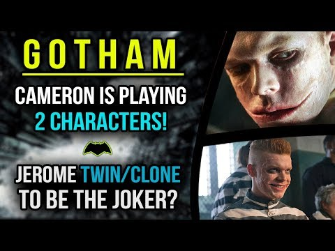 Cameron is Playing 2 Characters!! Will his Relative be The Joker? - Gotham Season 4 MEGA Video!