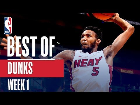 NBA's Best Dunks | Week 1