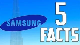 samsung top 5 facts