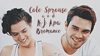 KJ Apa and Cole Sprouse   Cute/Funny Bromance Moments