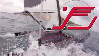 iFLY15 Foiling stable in rough conditions