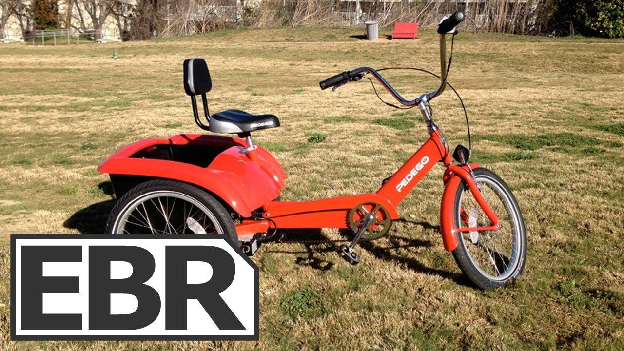 Pedego Trike Electric Bike Review Youtube