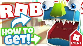 [EVENT] How to get the MONSTROUS CARDBOARD HELM | Roblox Fashion Frenzy