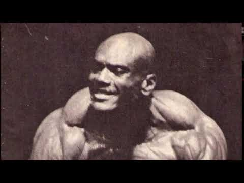 1968 Mr. Olympia – Champion Sergio Oliva