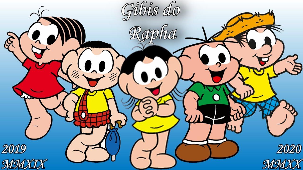Anúncio Especial-7ª temporada do canal Gibis do Rapha