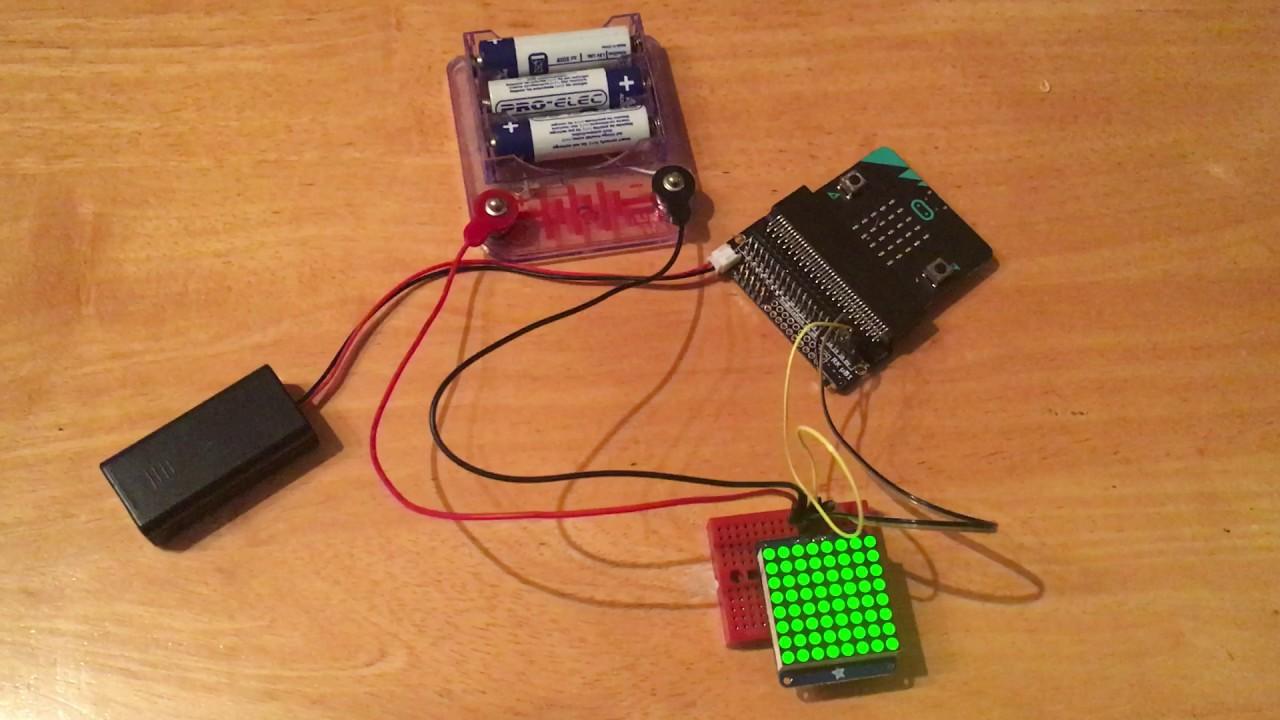 Electronics and computing: Driving Adafruit I2C 8x8 LED