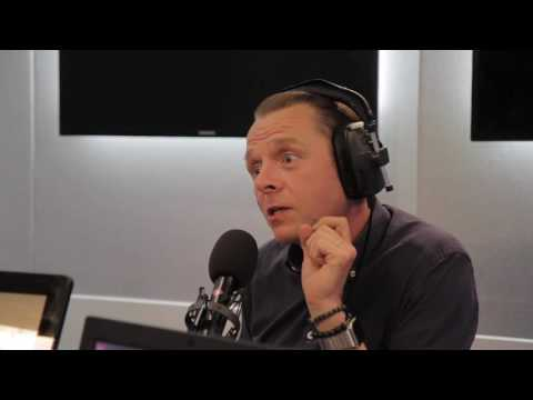 Simon Pegg Does Four Beatles Impressions In 12 Seconds