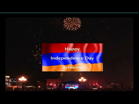 Armenian independence day, 24th anniversary