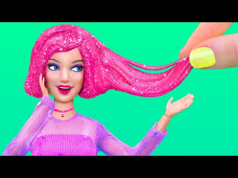 10 Barbie And LOL Surprise DIYs / Anti-Stress Dolls