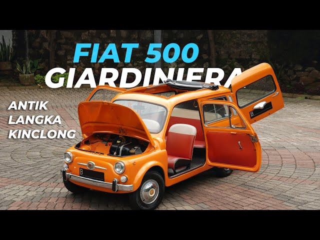 FIAT 500 Giardiniera Klasik Lebih Langka Dari Mini Cooper