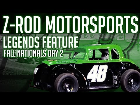 SNM Speedway Fall Nationals Night 2 Legends Feature