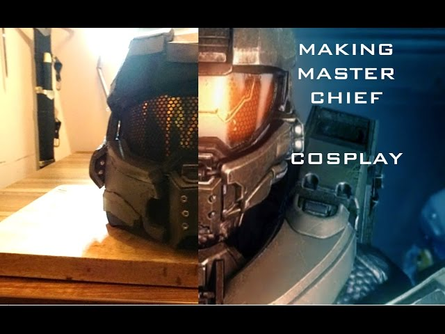 Halo 4- Building Master Chief- COSPLAY time-laps