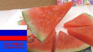 Эскимо из арбуза вкусное мороженное без лишних калорий