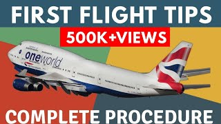 FIRST TIME FLIGHT JOURNEY TIPS IN INDIA | BOARDING PASS, DEP...
