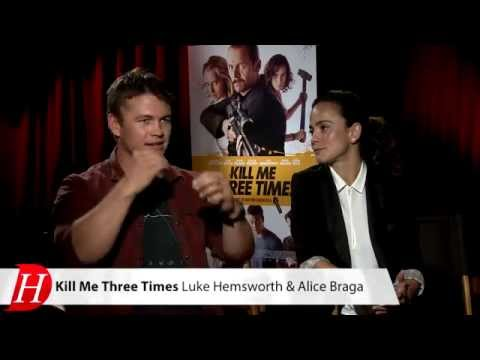 KILL ME THREE TIMES : Alice Braga, Luke Hemsworth