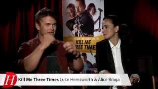 KILL ME THREE TIMES Interview: Alice Braga, Luke Hemsworth