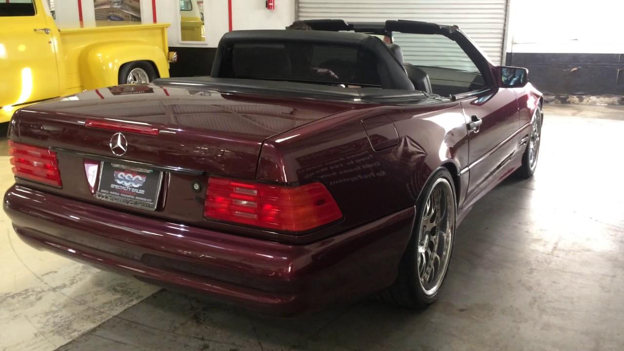 P10307 1997 mercedes benz sl500 2 door convertible