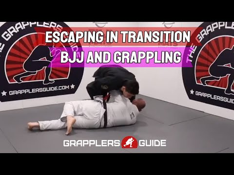 Escaping In Transition When Training BJJ and Grappling by Jason Scully