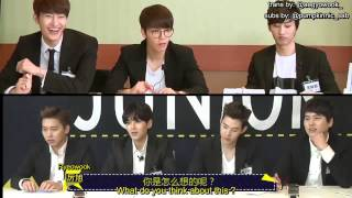 140427 Super Junior M Eng Sub 1/3