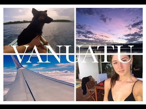 GETTING WET IN VANUATU I VLOG I ✩ Bella Hall
