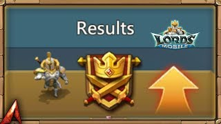 Guild Fest Rewards! Ranked 22nd in the world! Lords Mobile
