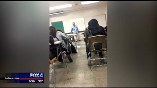 Video shows Dallas ISD substitute teacher cursing at student