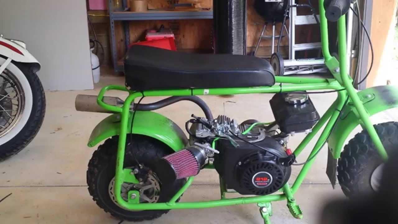 GreenMachine #4 Exhaust silencer