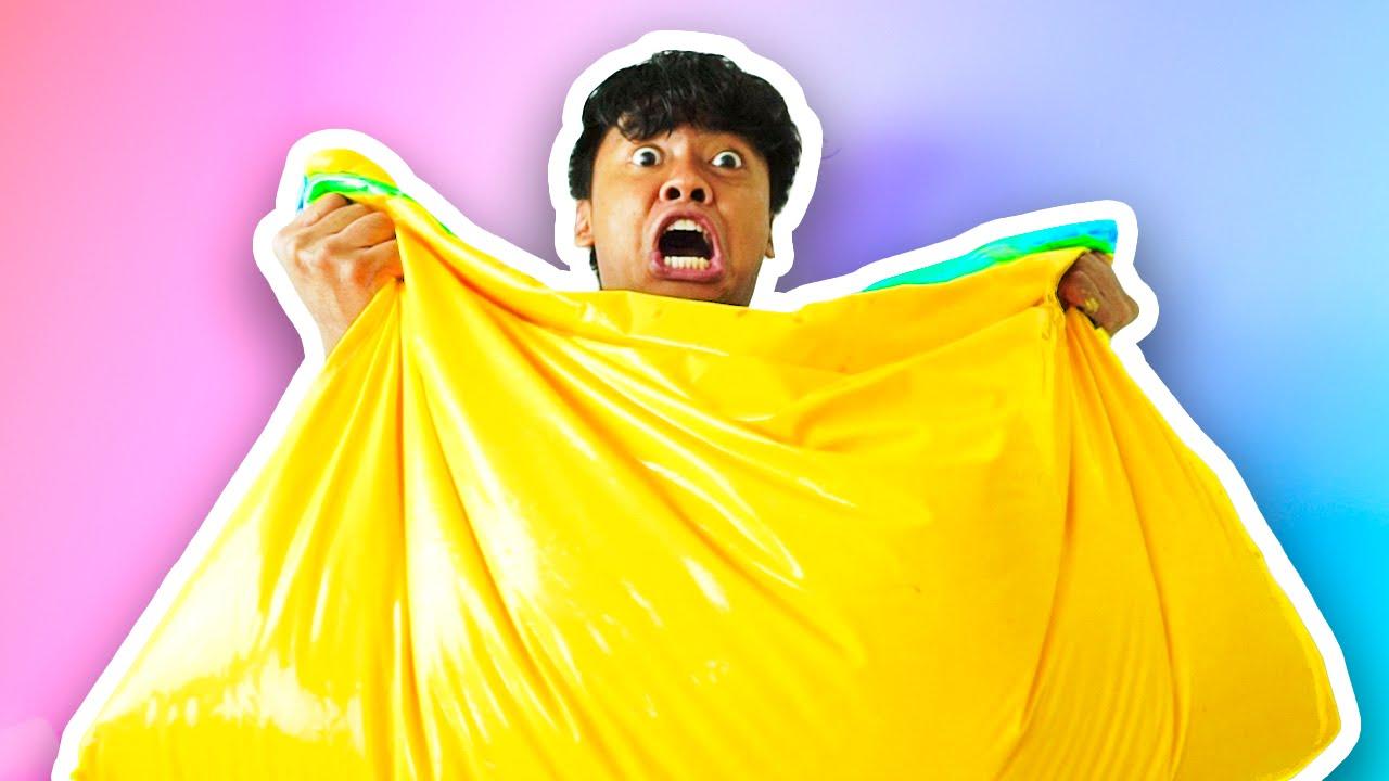 Diy How To Make Fluffy Slime Bean Bag Youtube