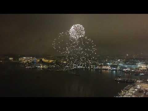Happy New Year 2018! (DJI Spark, Oslo, Norway)
