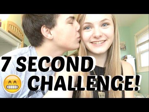 7 SECOND CHALLENGE WITH MY BOYFRIEND!