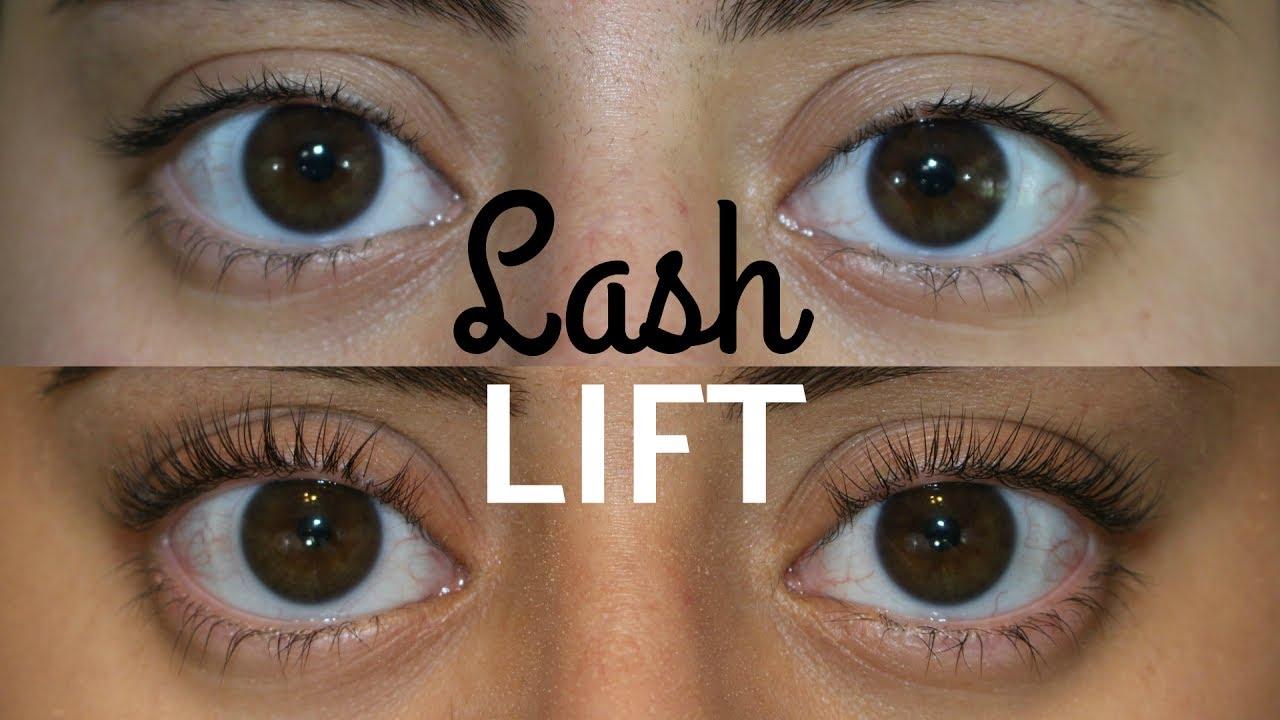At Home Lash Lift Eyelash Perm Youtube