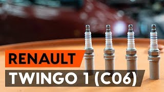 Ako nahradiť Zapalovacia sviečka RENAULT TWINGO I (C06_) - příručka