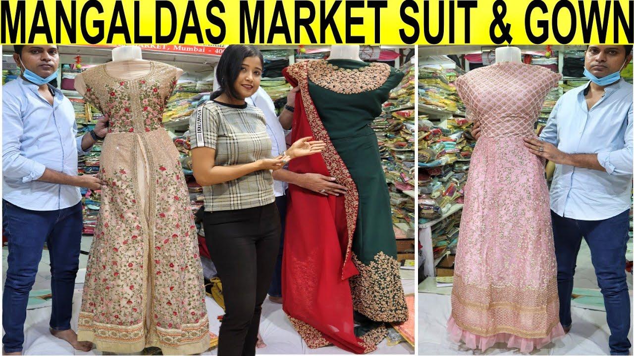 Mangaldas Market Mumbai |Biggest Wholesale And Retail Market Mumbai   |Gown,Dress Material In Budget