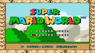 Série Nostalgia - Super Mario World #Parte 01 (SNES)