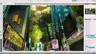 Speed art New York Revenge - Восстание (#Photoshop CS5)