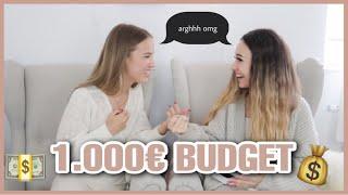 Shoppen für 1.000 EURO - unsere LIEBLINGS-TEILE schenken!