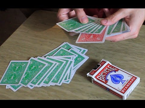 Criss Angel Color Changing Deck - Tutorial
