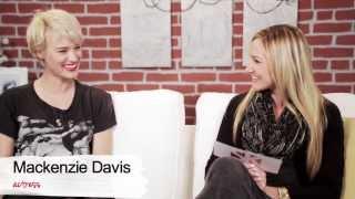 Mackenzie Davis Talks That Awkward Moment & Having Fun with the Cast - Girl Crush
