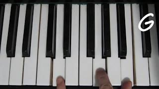 Как Играть На Пианино Легкую Мелодию Ранетки - Зима