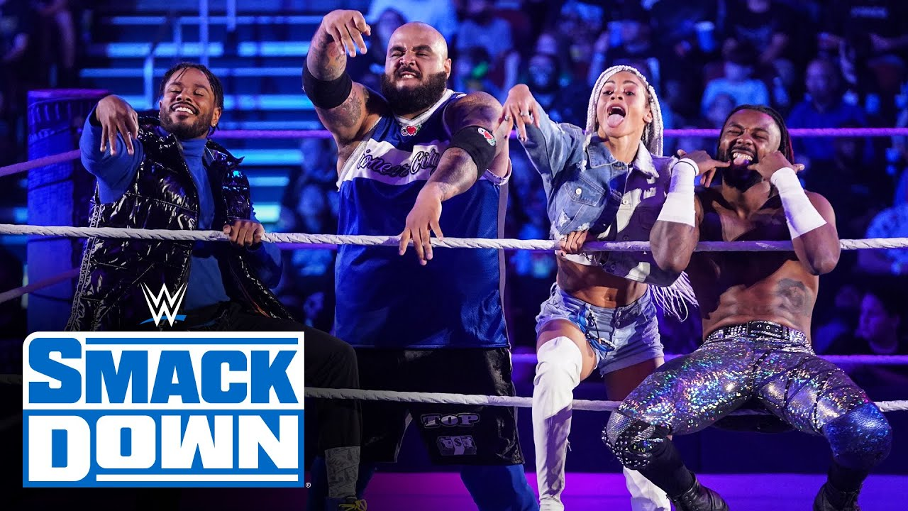 Download Hit Row debuts on SmackDown against Dustin Lawyer & Daniel Williams: SmackDown, Oct. 22, 2021