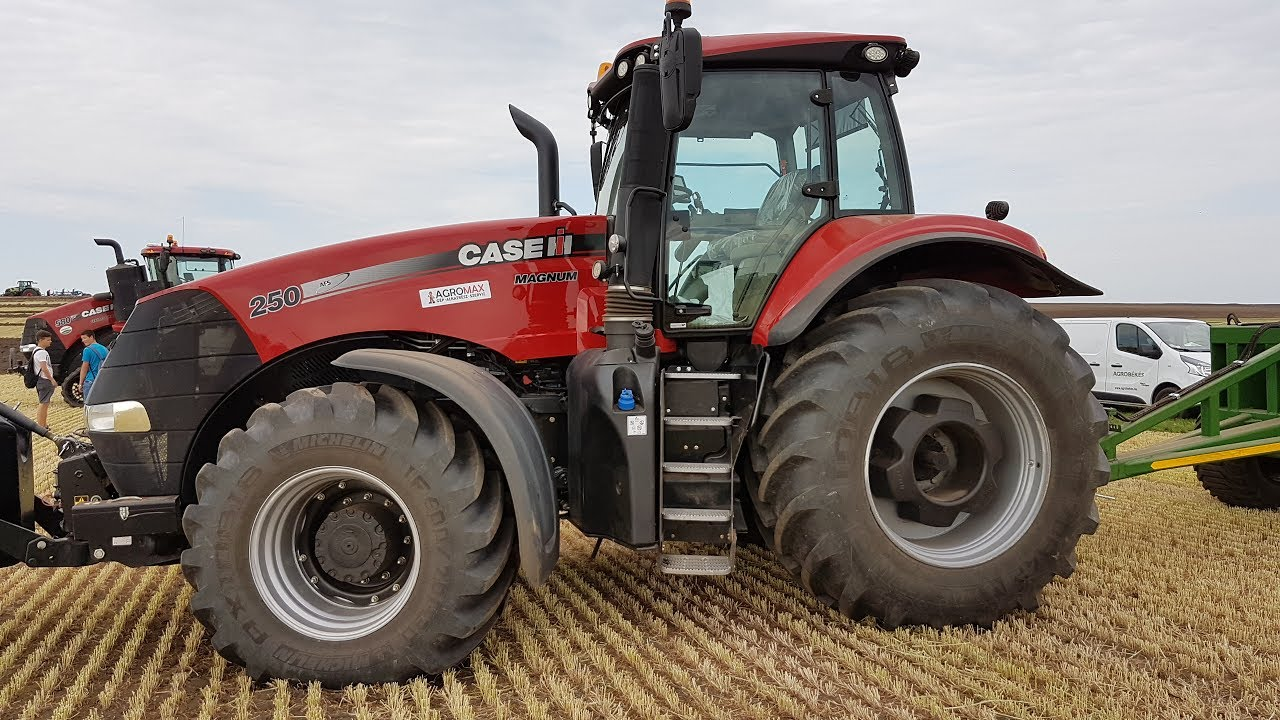 Case magnum 250 tractor 2017 - YouTube