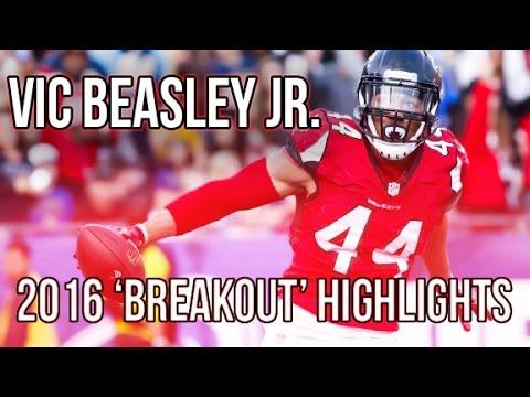 Vic Beasley Jr. || 2016 'Breakout' Highlights || Atlanta Falcons