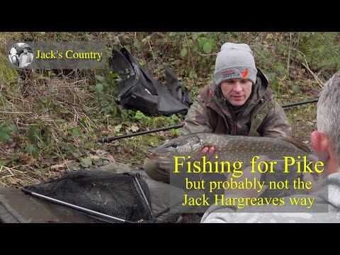 Fishing For Pike   - But Probably Not The Jack Hargreaves Way