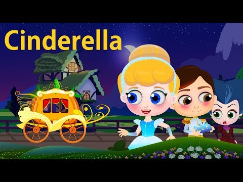 New Cinderella Full Story In English   Fairy Tales For Children   Bedtime Stories For Kids