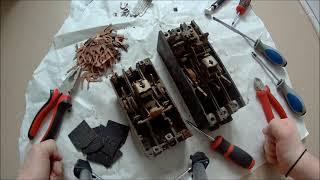Сколько цветного метала в Советских автоматах  Разбираем автоматы на металл
