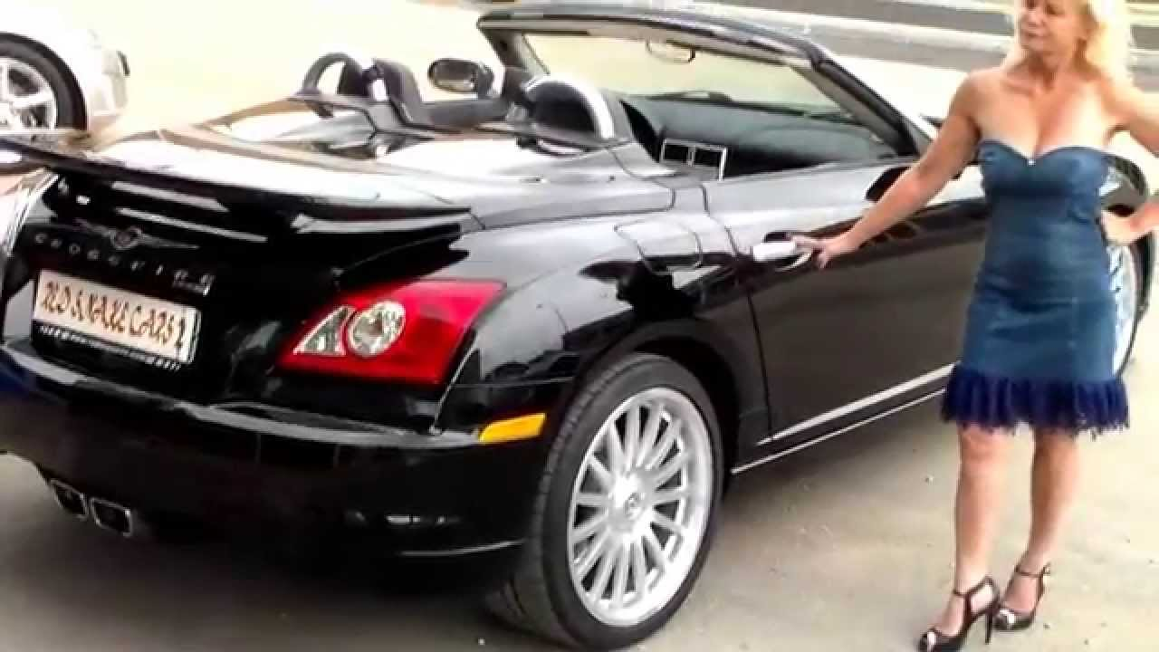 chrysler crossfire srt6 cabriolet youtube. Black Bedroom Furniture Sets. Home Design Ideas